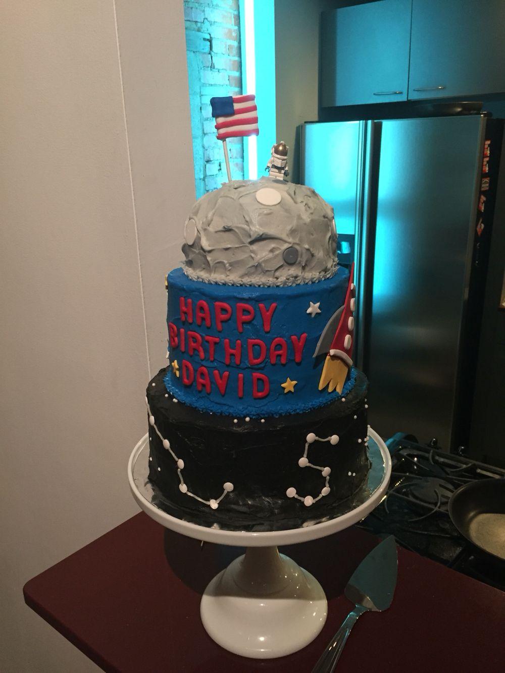 Space Birthday Cake Spacecake Spacebirthday My Baking Creations