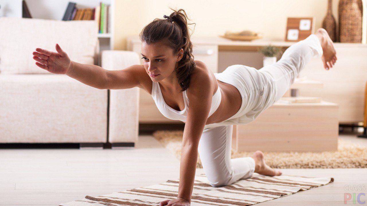 Зарядка йоги для похудения