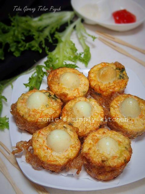 Tahu Goreng Telur Puyuh Monic S Simply Kitchen Resep Tahu Makanan Dan Minuman Resep Makanan