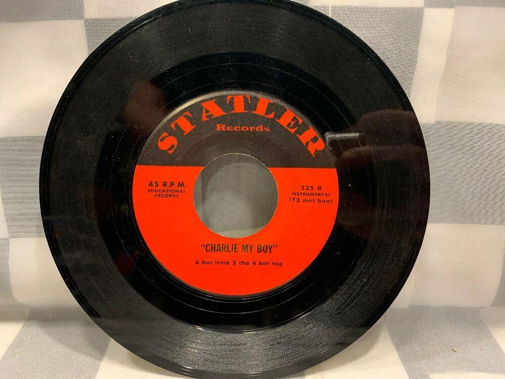 Statler Records Charlie My Boy That Old Feeling 45 Rpm Vinyl Record Poprock Vinyl Records Records My Boys