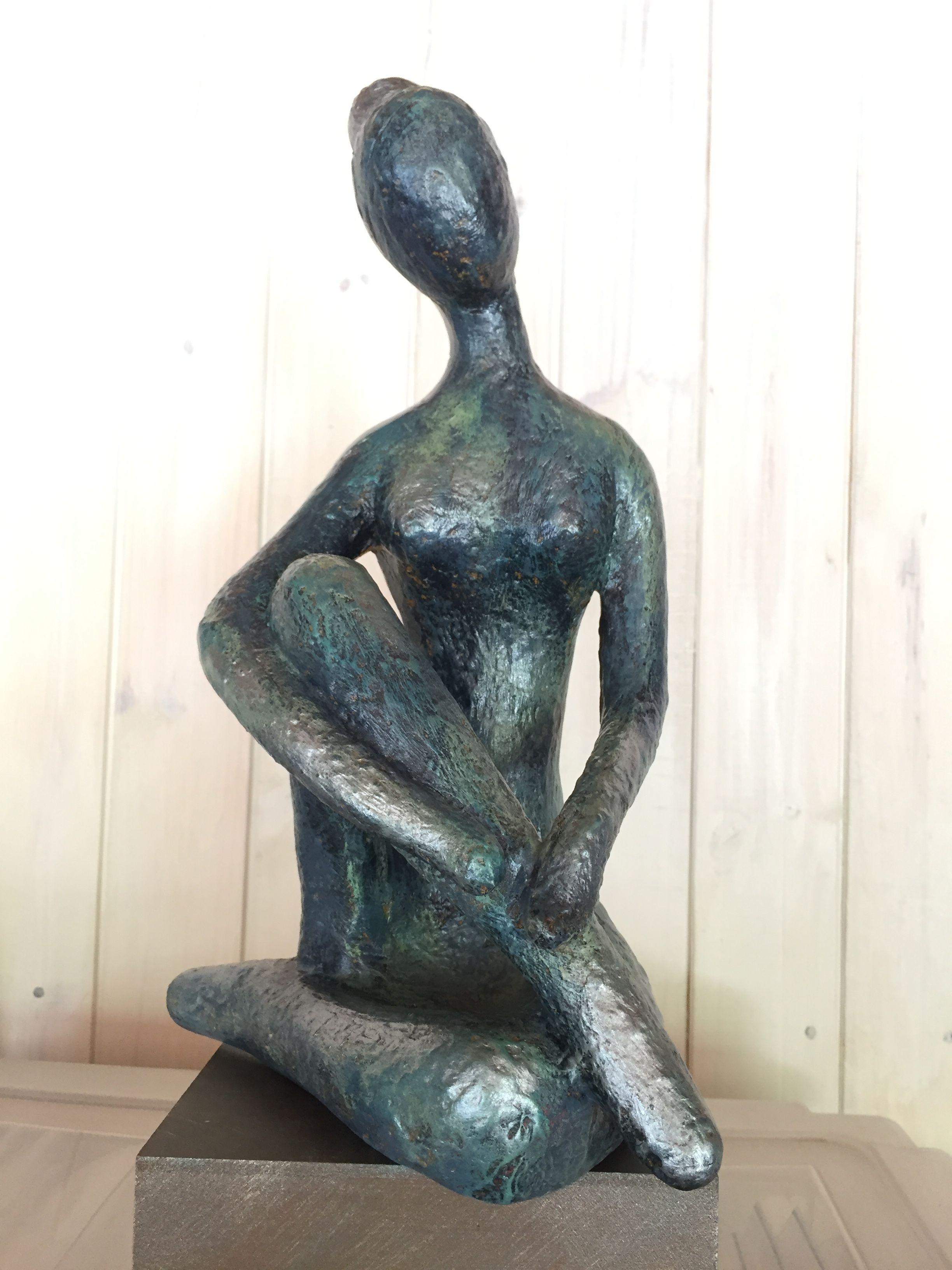 Escultura en zia patina metalizada hecho por coca aguilera escultura en zia patina metalizada hecho por coca aguilera taller de jeannette molina hexwebz Images