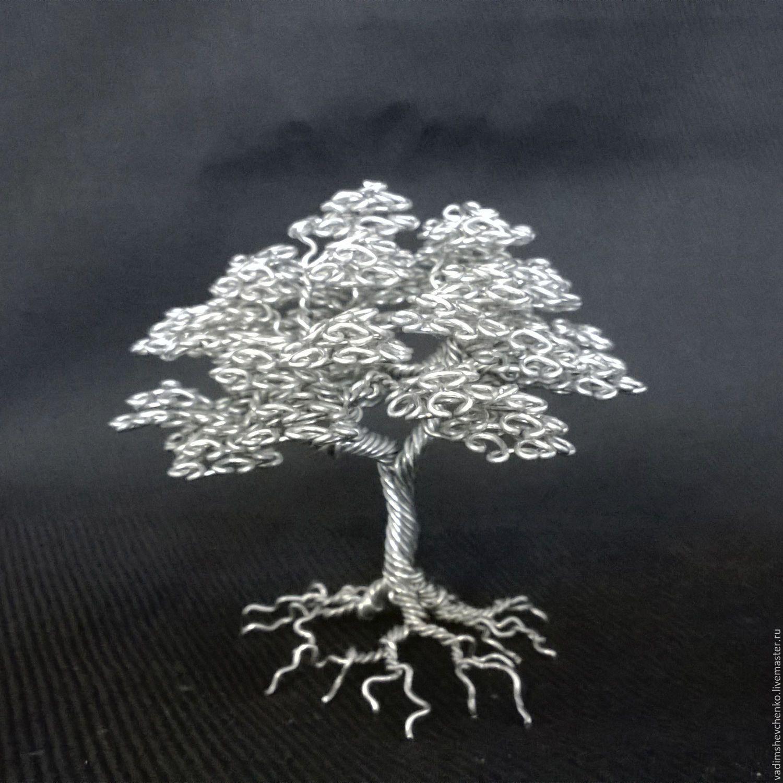 Wire Work/ Wire tree by Vadim Shevchenko (Russia) | Wire Bonsai ...