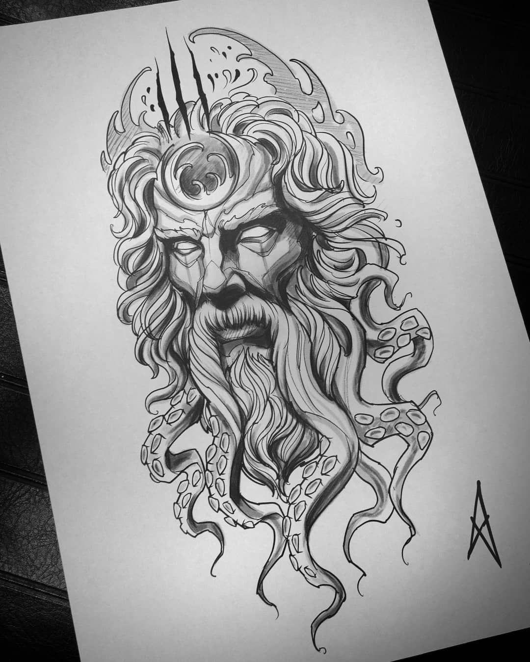 Poseidon By Lorkalt On Deviantart Poseidon