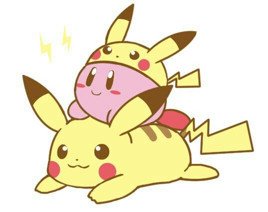 Create A Kirby Character Noll: Pikachu, Kirby, Cute, Outfit, Pokemon, Crossover; Super