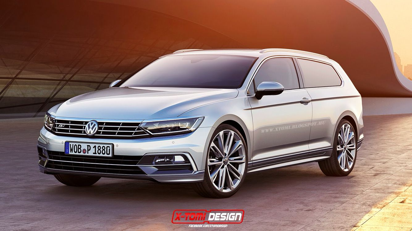 2017 volkswagen phideon r line wagon concept this car came out in china as