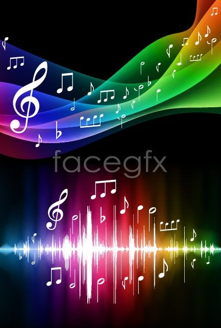 symphony music background vector background note sonic for Free Download   Free Vector