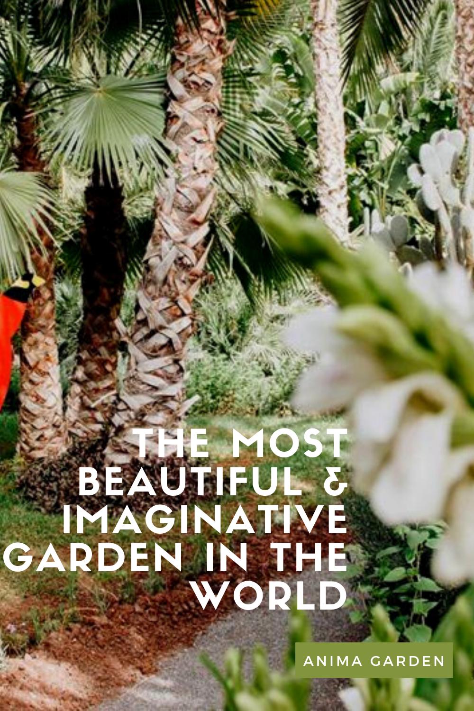 Anima Garden Marrakech Magical Places Marrakech Beautiful