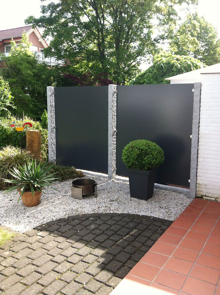 sichtschutz no 2 garten pinterest sichtschutz. Black Bedroom Furniture Sets. Home Design Ideas