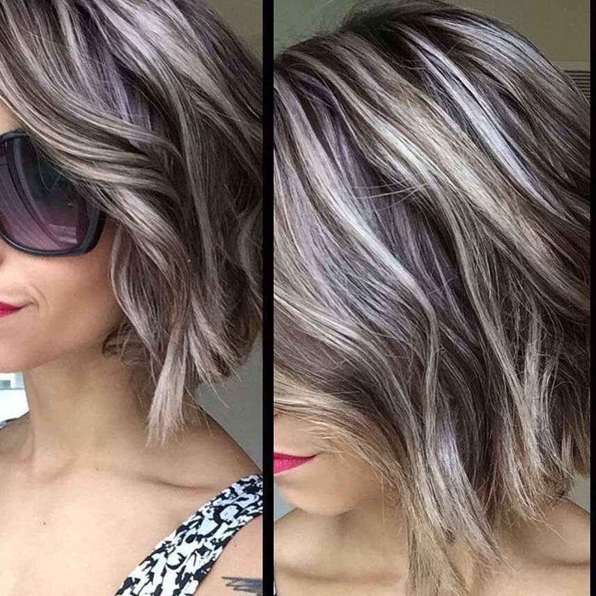 Pin By Mary Champagne Anzalone On Transitioning To Gray Hair