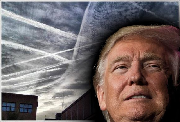 Donald Trump Took To Twitter Monday, Tweet Storming Fans U201cMy Very First  Executive Order Will END The Chemtrailing Across America.