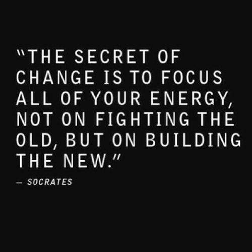The Secret Of Change Socrates Quote The Words