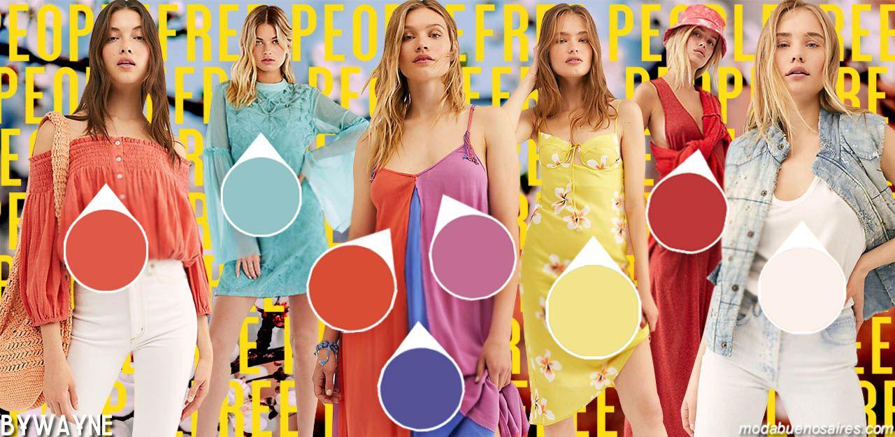 Tendencias colores primavera verano 2020