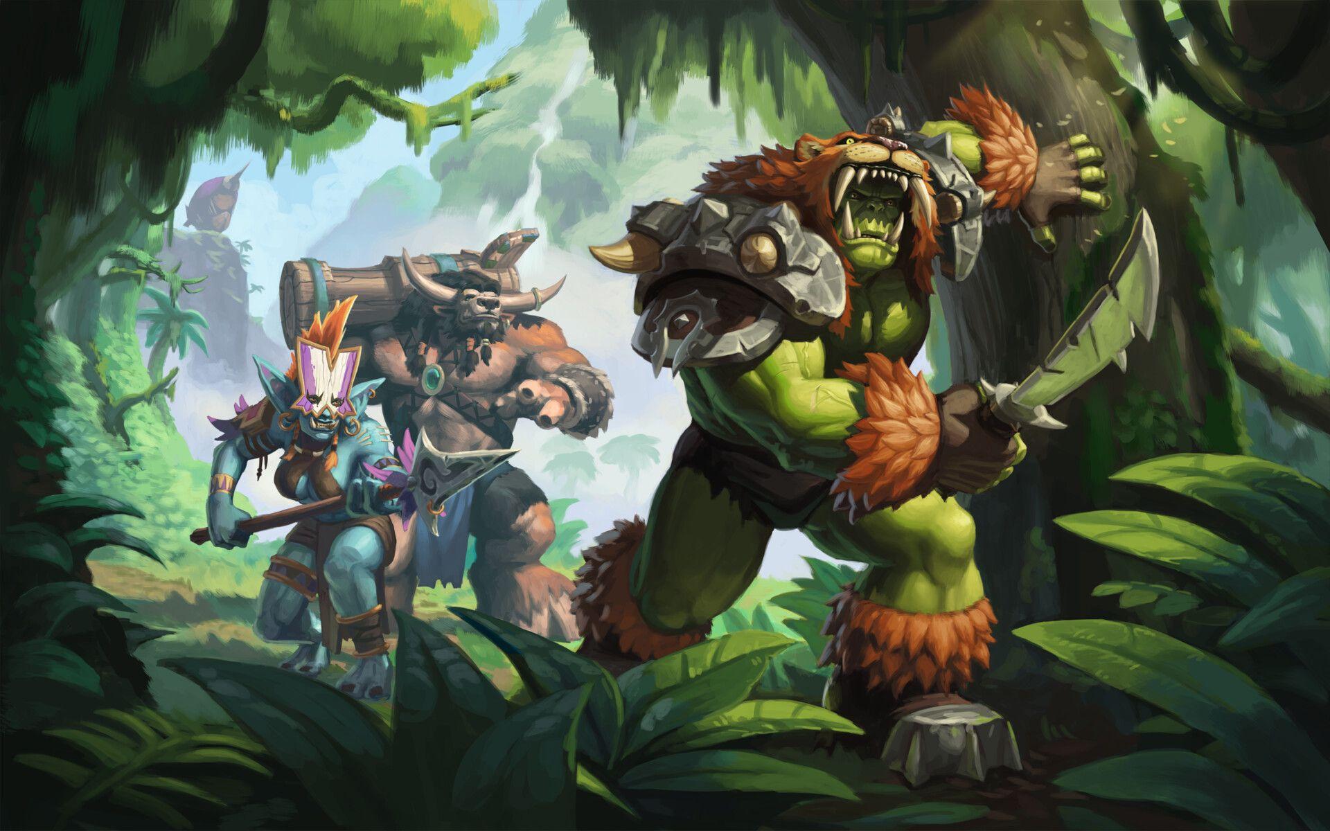 ArtStation Horde on a Quest , Mikayıl Yusifov Warcraft