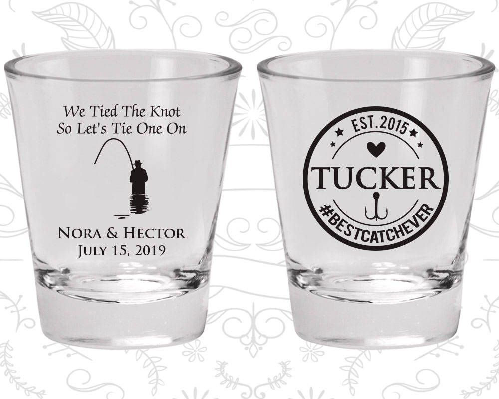 Wedding Shot Glass, Personalized Shot Glasses, Shot Glasses, Shot ...