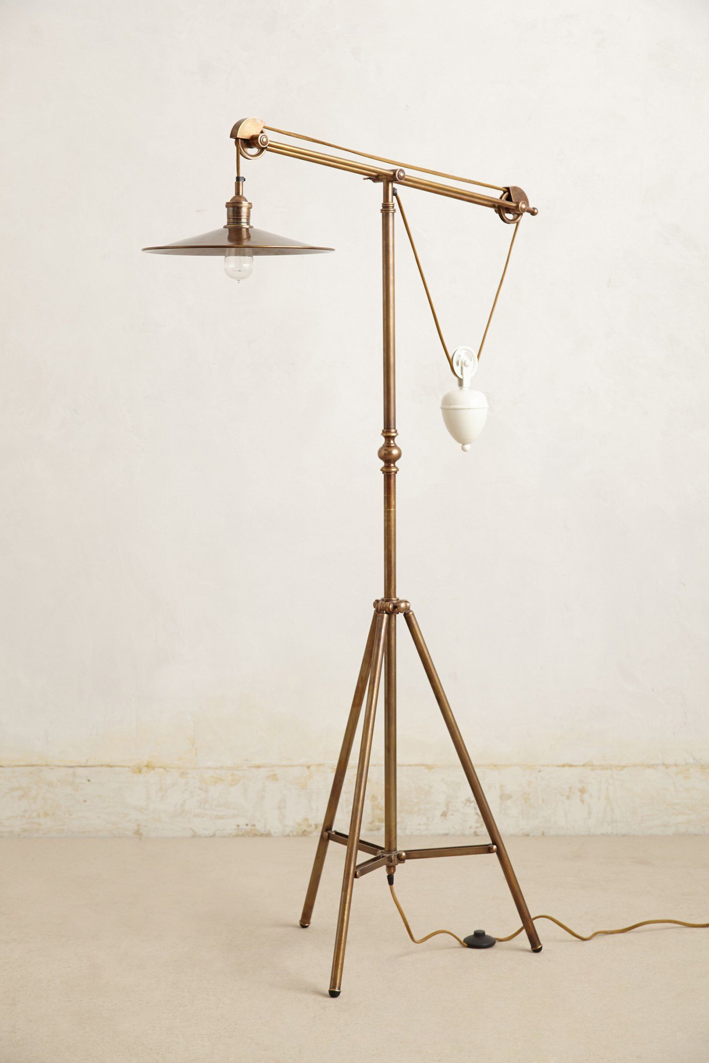 Counterbalance Floor Lamp Anthropologie Com Floor Lamp Lighting Home Lighting Floor Lamp