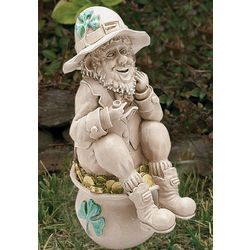 Leprechaun Garden StatueLeprechaun Garden Statue   Playing in the Dirt Gift Ideas  . Fairy Garden Ornaments Ireland. Home Design Ideas