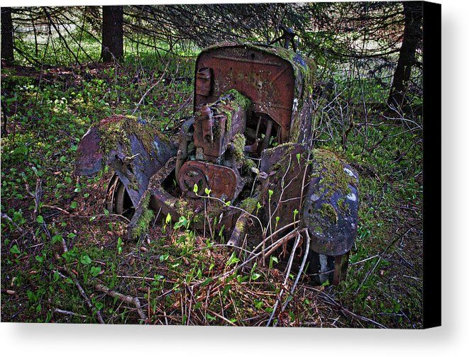 Abandoned At Amalga 3 Canvas Print Canvas Art By Cathy Mahnke Canvas Prints Canvas Art Art