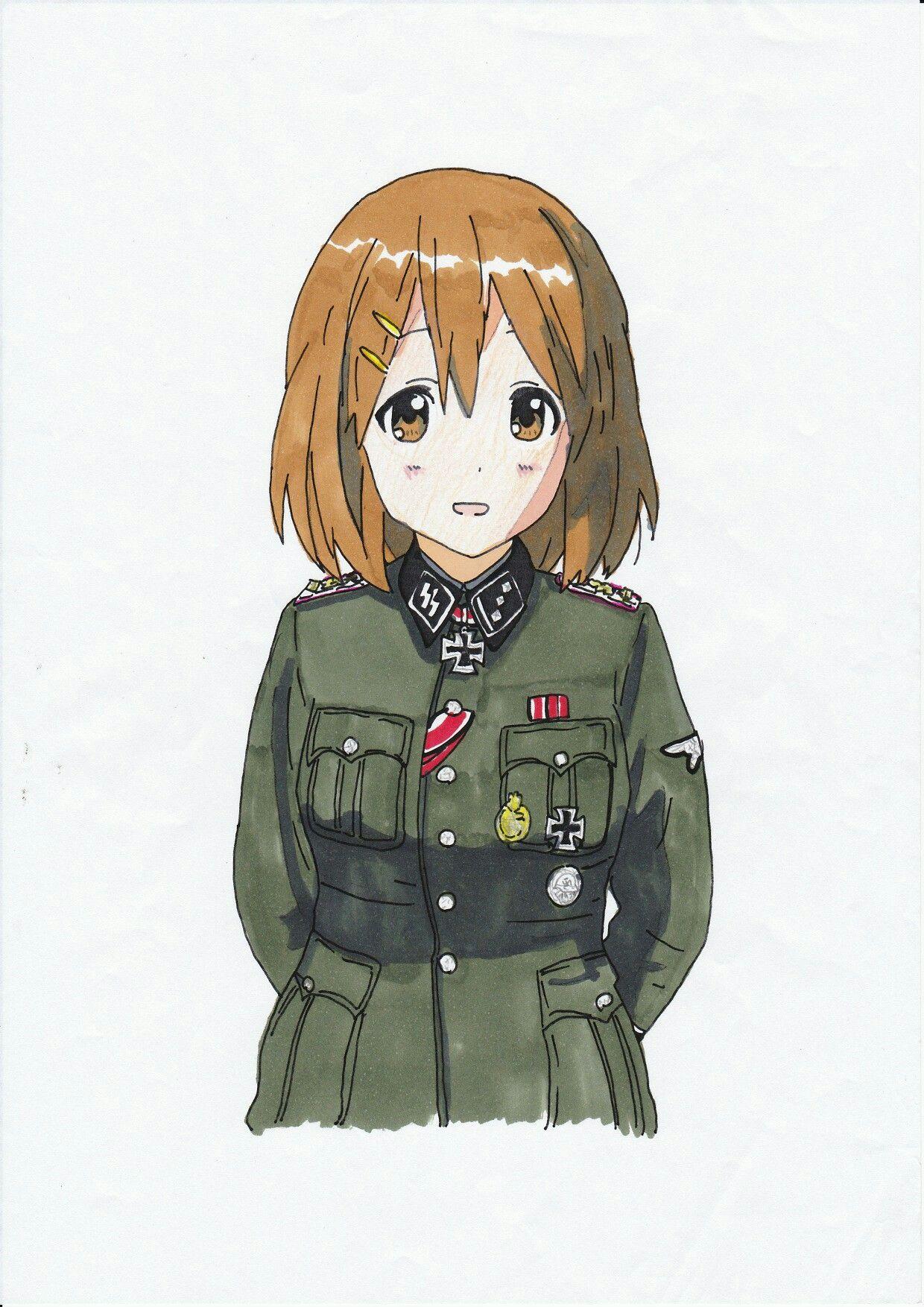 Pin by Mexican Pony on Military anime Kawaii anime