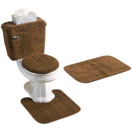Home Bathroom Rug Sets Toilet Tank