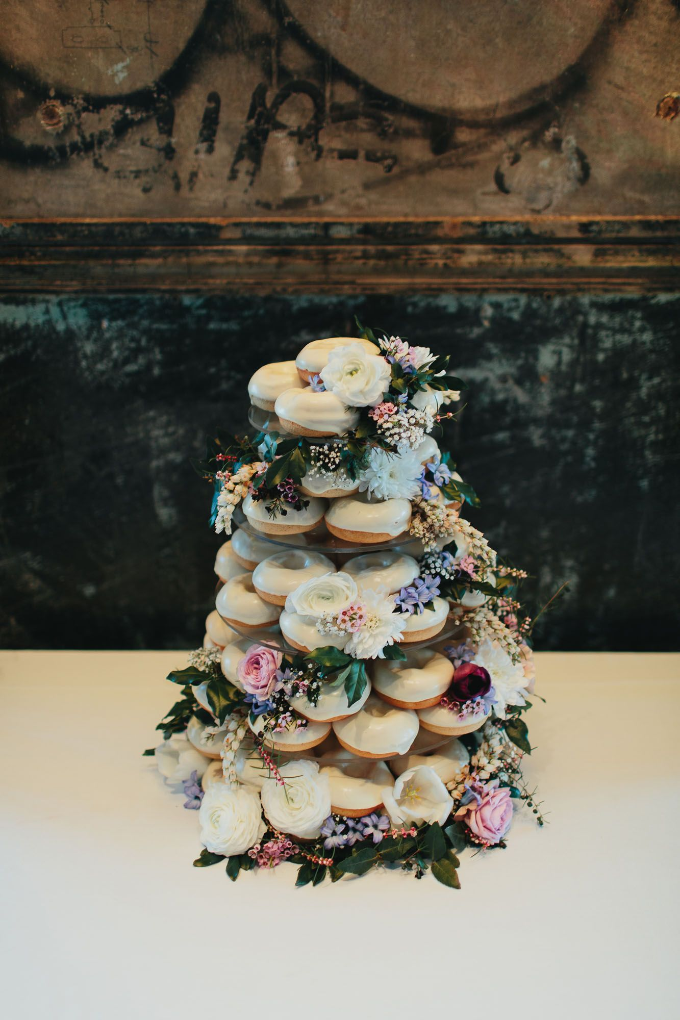 Dessert inspo to die for hello may donut wedding cake