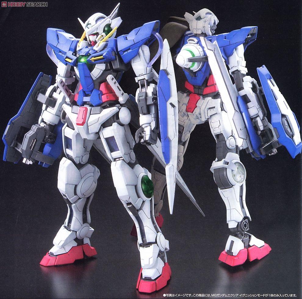 Gundam GN-001 Gundam Exia MG 1//100 Scale