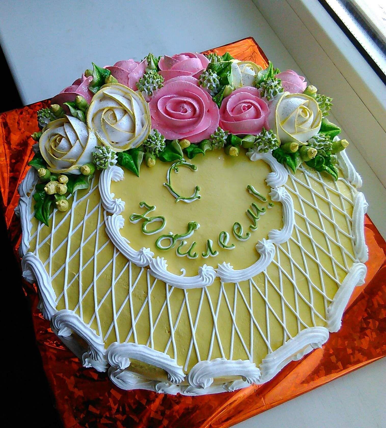Персональне фото | Цветочные торты, Красивые торты, Торт