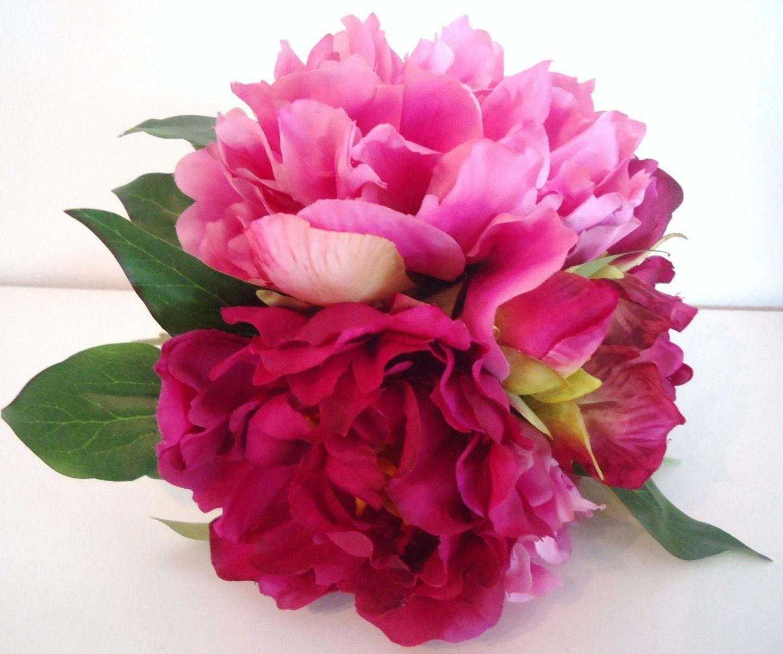 Bouquet de fleurs fushia for Bouquet de fleurs 7 lettres