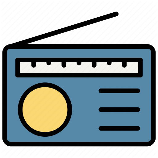 Communication Music Radio Sound Icon Download On Iconfinder Communication Icon Radio Music Radio