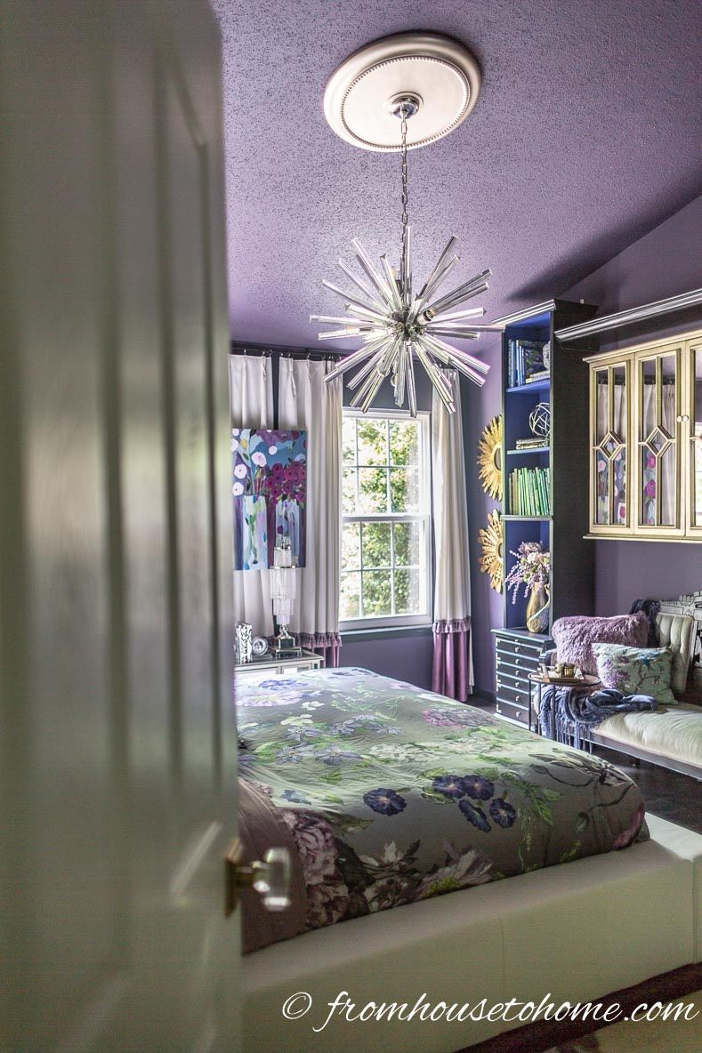 Romantic bedroom master bedroom bedroom decor ideas  Purple Bedroom Decorating Ideas Create a Stunning Master Bedroom
