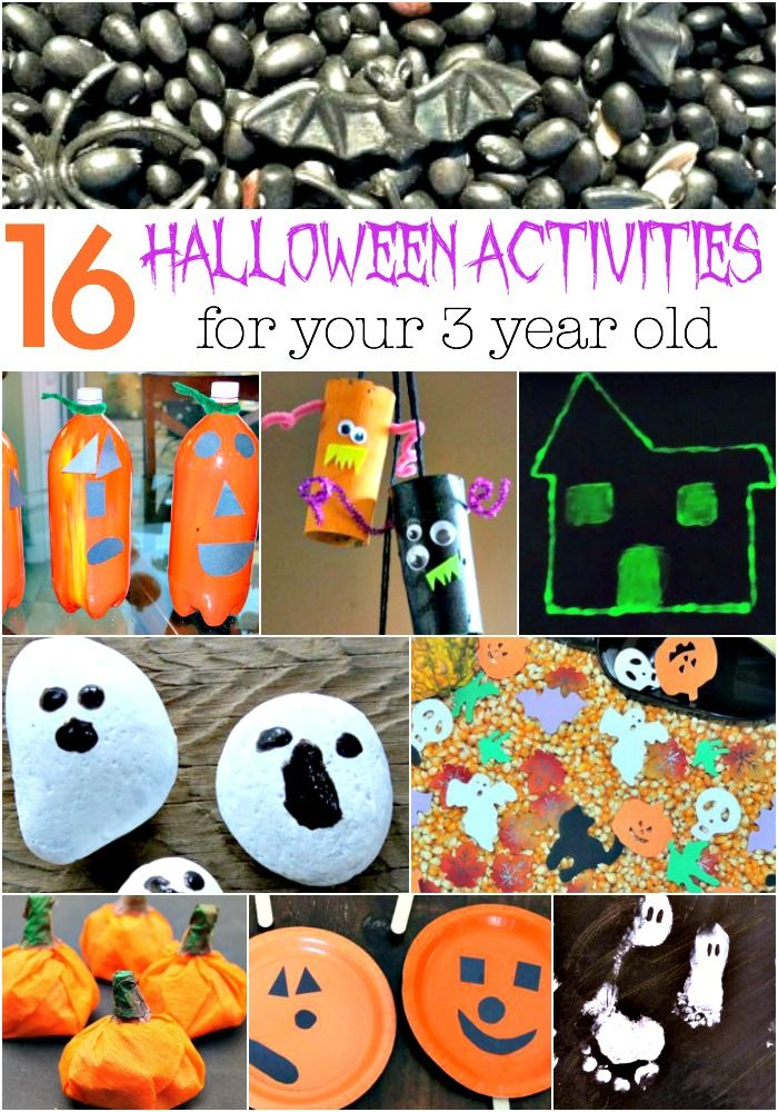 16 Halloween Activities For 3 Year Olds Holiday Stuff Halloween