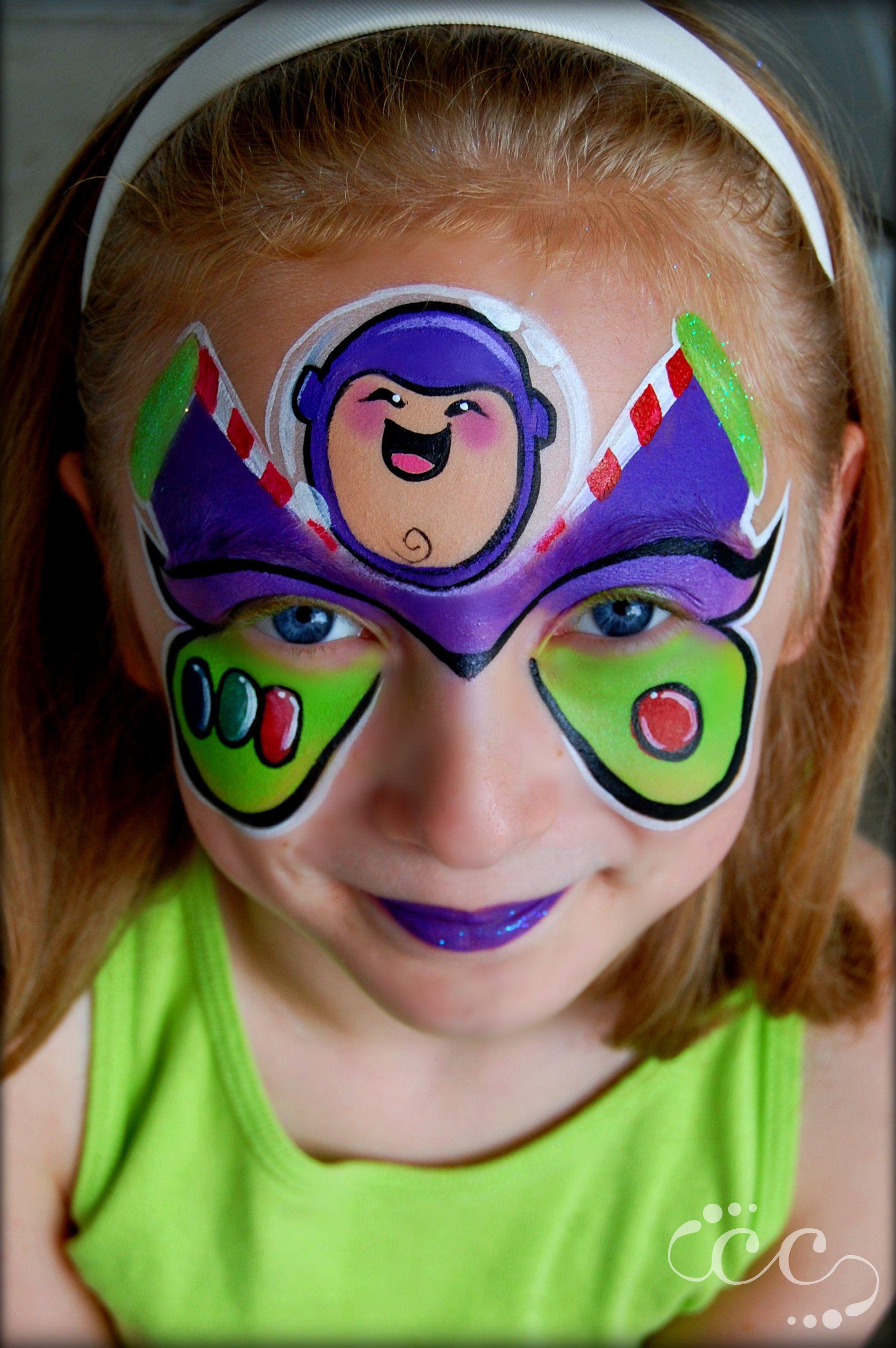 Buzz Lightyear #ToyStory #Inspired #Buzz #Disney #facepaint #design ...