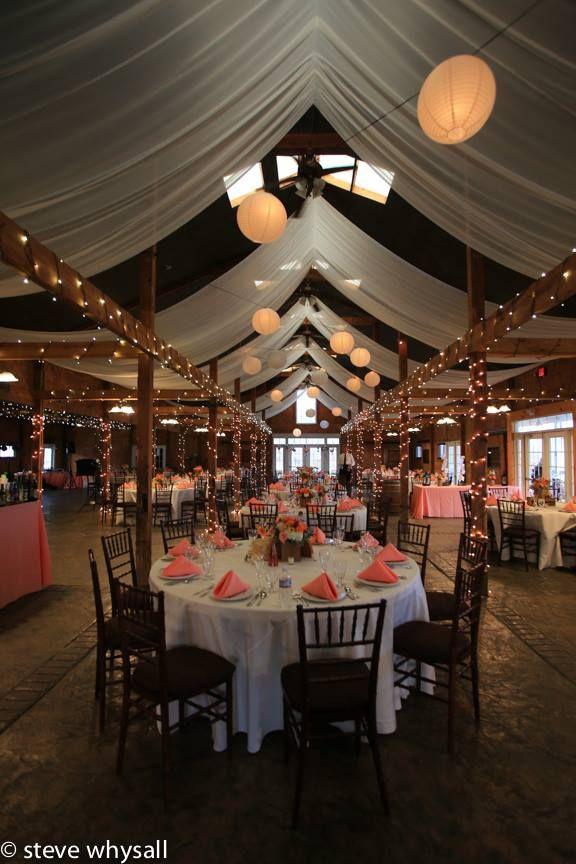 Bluemont Vineyard Wedding Reception Room Photo