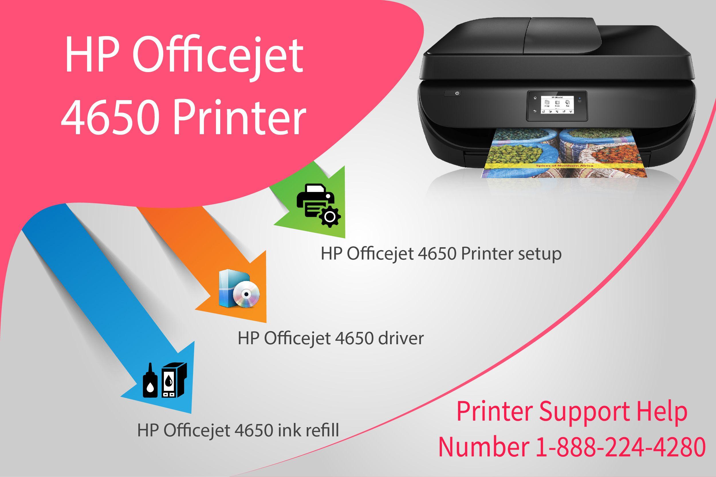 Quick Support for 123 hp com/oj4650 Printer setup, driver