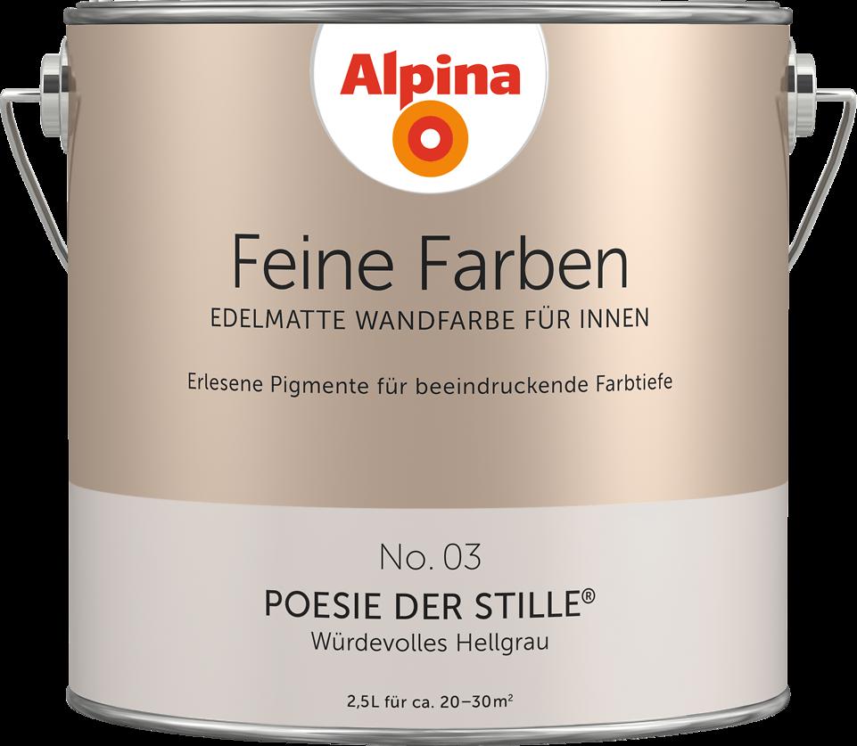 Edelmatte Wandfarben In Grau
