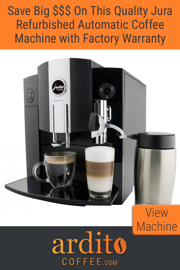 Refurbished Jura C9 One Touch Jura coffee machine
