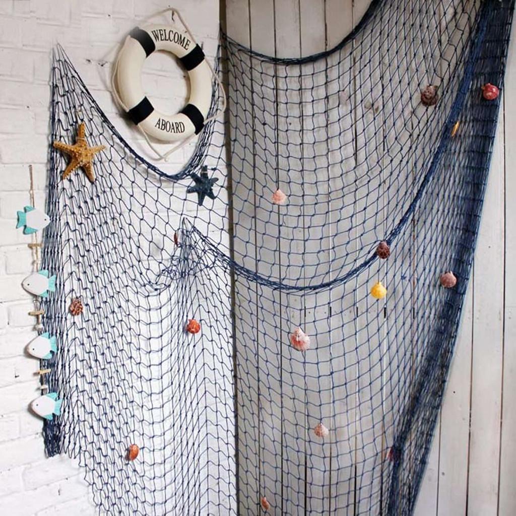 Mediterranean Fish Net 1.5X2M Nautical Shell