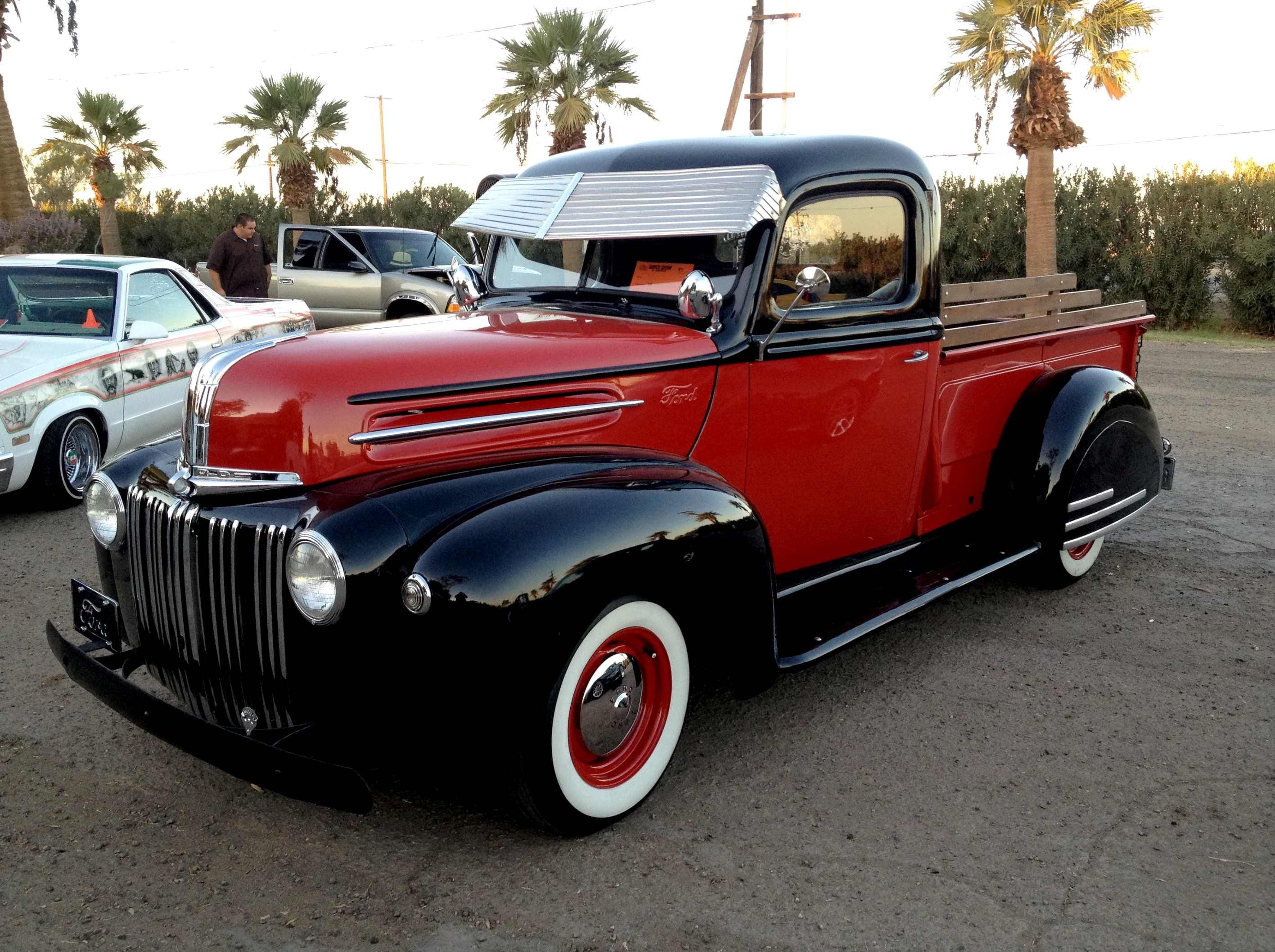 1946 Ford Trucki...Re-pin brought to you by #Lowcost #CarInsurance ...
