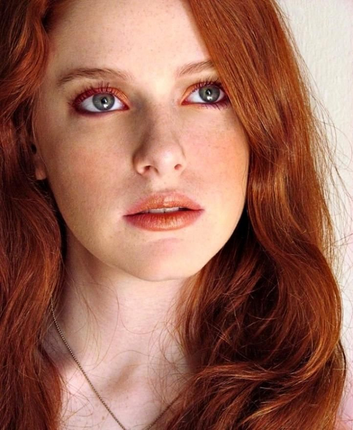 Makeup For Redheads With Blue Eyes Makeup For Freckled Face
