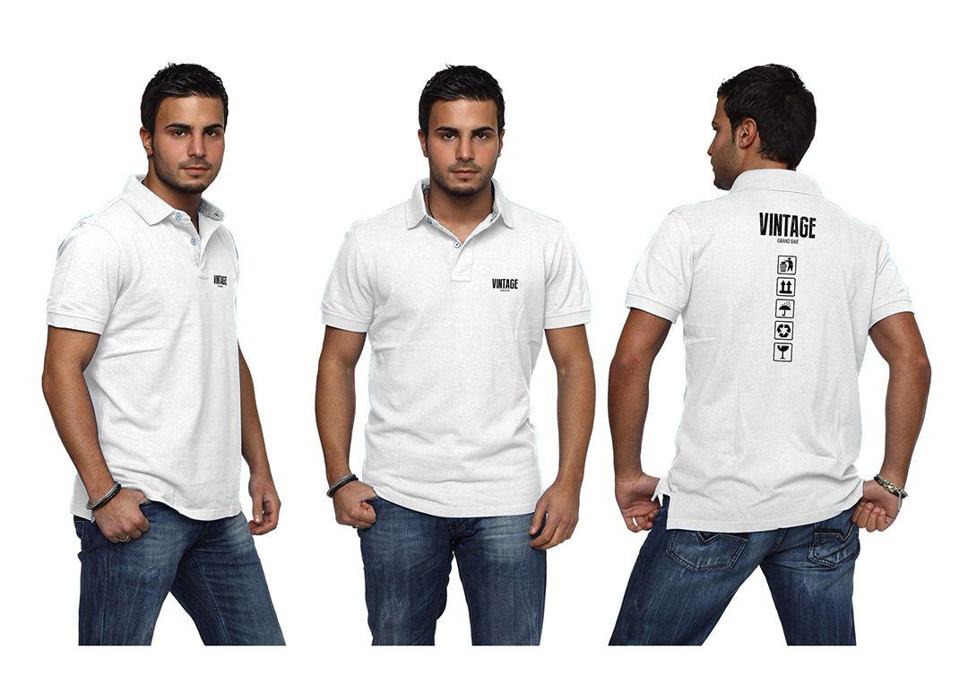 Vintage Bar Mauritius Logo Polo Uniform #Collateral #o8 #Origin8Concepts #Branding
