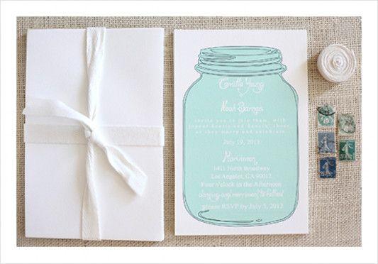 Mason Jar Wedding Invitation Templates Free Weddingplusplus WeddingInvitations FreeMasonJars