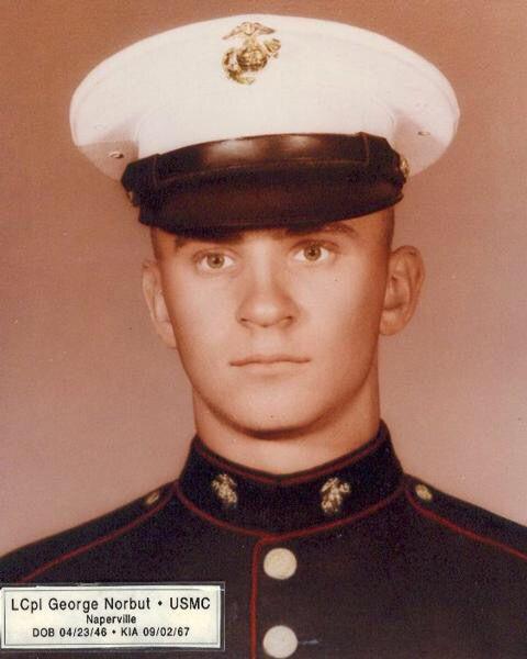 LCPL George Edward Norbut USMC Charlie Company 1/3 Marines KIA