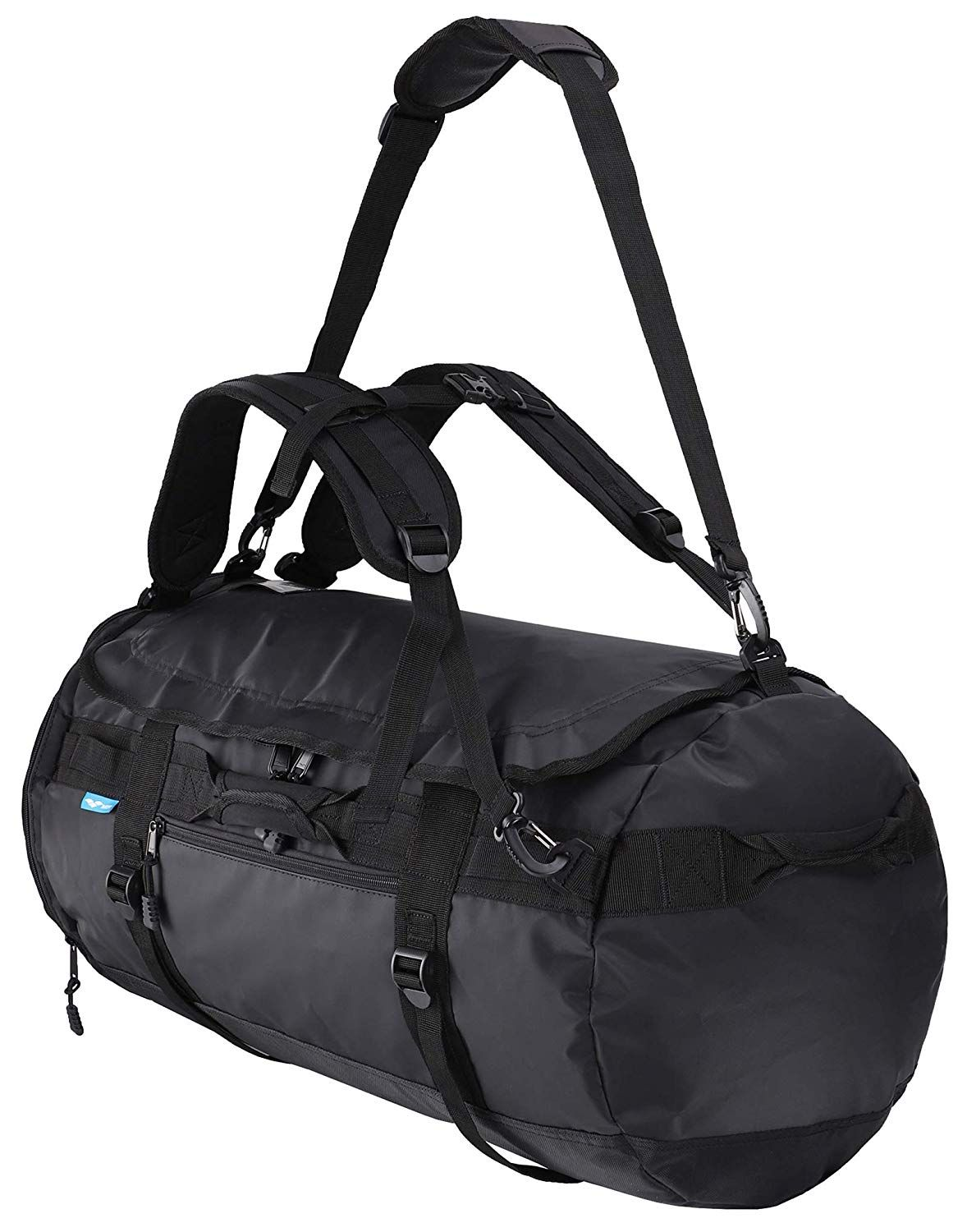 MIER Large Duffel Backpack Sports Gym Bag with Shoe