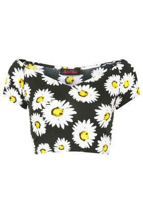 **Dani Crop by Motel - Jersey Tops  - Clothing