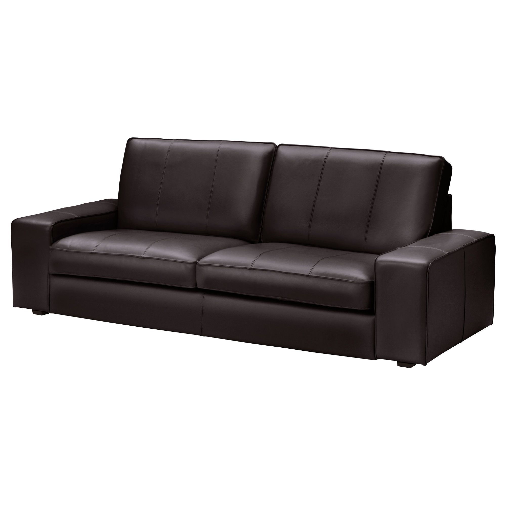 Us Furniture And Home Furnishings With Images Kivik Sofa Faux Leather Sofa Ikea Leather Sofa