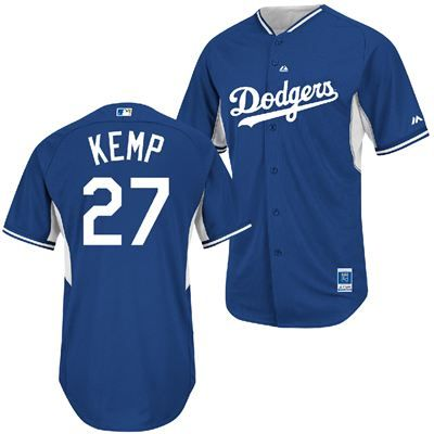 save off e26b3 3cd79 Los Angeles Dodgers Majestic MLB Youth Matt Kemp #27 Batting ...