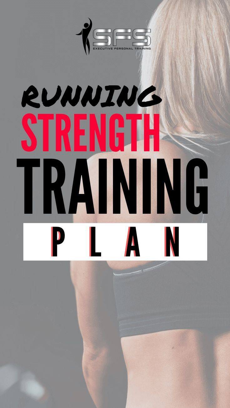 Running strength training plan  This is a 4 week strength training for running plan that will help r...