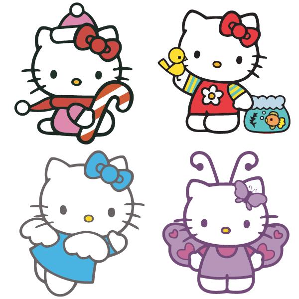 Hello Kitty Vector Free Hello Kitty Printables Hello Kitty Wallpaper Hello Kitty