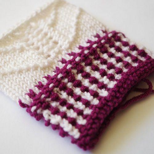 Decorative Edging For Gloves Knit Picky Patterns Pinterest