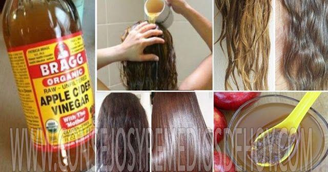 Por Esta Razón Ella Lava Su Cabello Con Vinagre De Manzana Apple Cider Vinegar For Hair Apple Cider Hair Apple Cider Vinegar Remedies