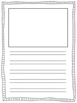 Handwriting without tears paper template